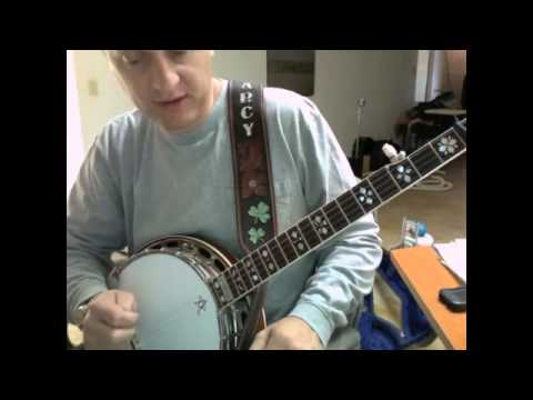 How to play The Warden on banjo - OCMS