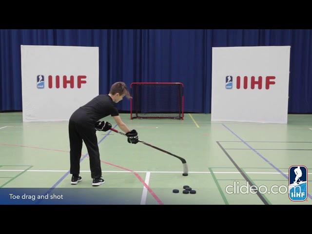 Off ice: Eksempler på skudøvelser
