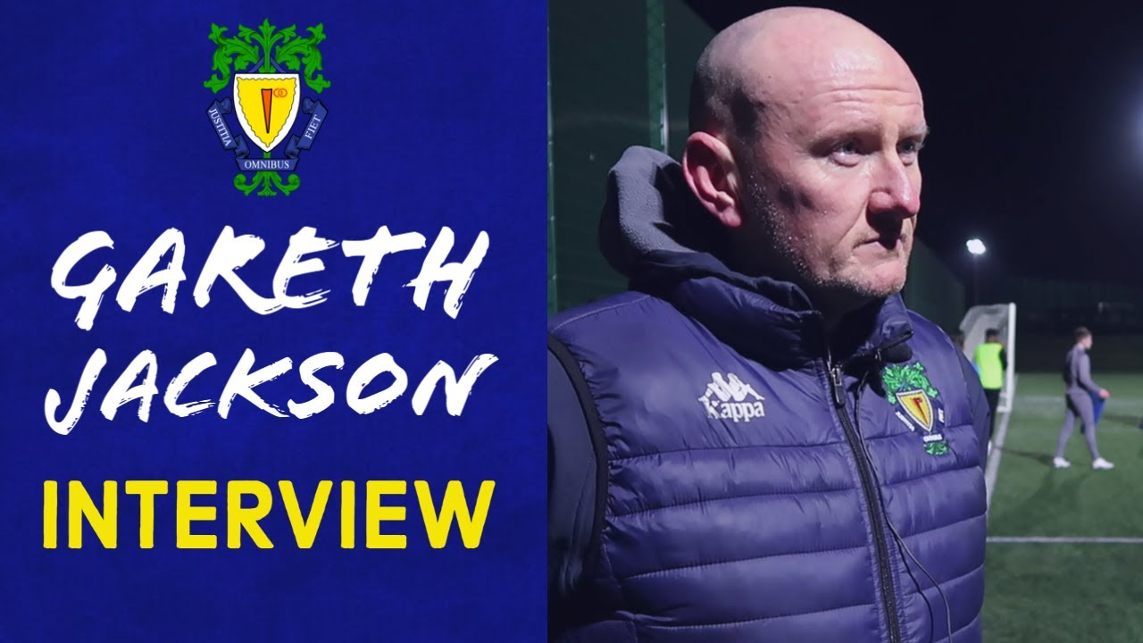 Interview | Manager Gareth Jackson Gives His Thoughts as We Get Back Training Again