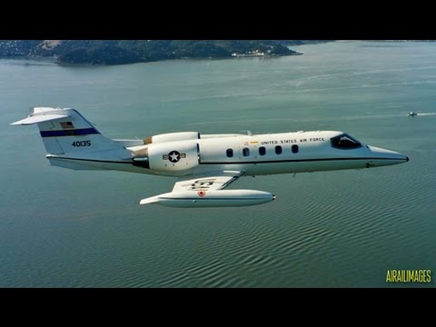 USAF C-21 Learjet Glamour Video