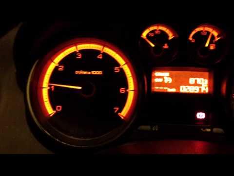 Peugeot 308 запуск в мороз при 27
