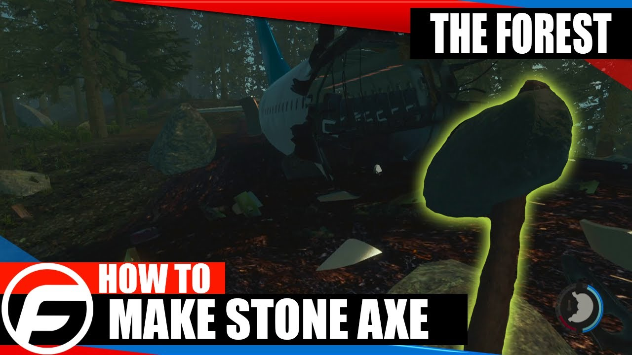 the forest how to make a crafted axe