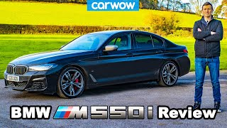 BMW M550i 2021 review - see why it's better than an M5!