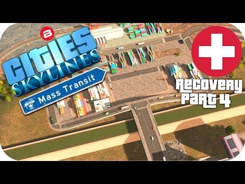 Cities Skylines Gameplay: DISASTER DEFENCE Cities: Skylines Mods MASS TRANSIT DLC S2 #4
