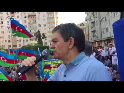 Əli Kərimlinin mitinqdə çıxışı