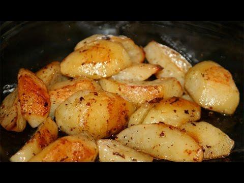 Молодой картофель запечённый в рукаве