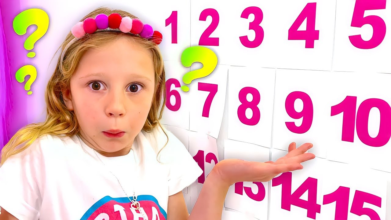 Nastya e papai estão aprendendo matemática