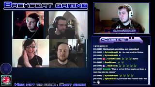 Backseat Gaming Talk show Ep 20.