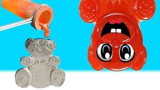 Metall Lucky Bär aus geschmolzenem Aluminium - DiY