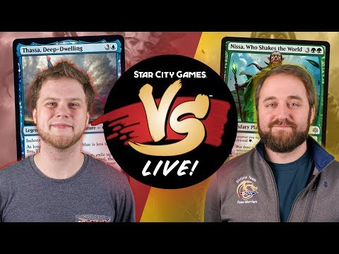 VS Live!   Mono-Blue Devotion VS Simic Ramp   Pioneer   Match 1