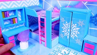 DIY Miniature Cardboard House #21   Bedroom for Two