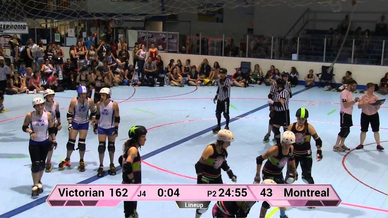 Roller skating montreal - Wftda Roller Derby Montreal Roller Derby Vs Victorian Roller Derby League Ecdx 2014
