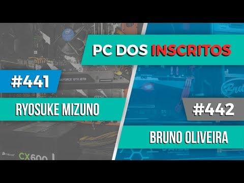 PC dos inscritos Ryosuke Mizuno #441 e Bruno Oliveira #442
