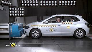 Euro NCAP Crash Test of VW Polo
