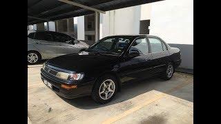 USED CAR Review: 1992 Toyota Corolla 1.3 SEG! Part 1   EvoMalaysia.com
