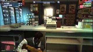 """GTA 5 PC Online """"Survie au Magasin Part 2"""""""