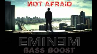 Eminem - Not Afraid (Bass Boost)