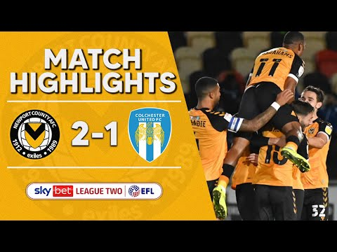 Newport Colchester Goals And Highlights