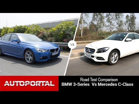 bmw 3 series vs mercedes-benz c class comparison review- auto
