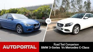 BMW 3 Series VS Mercedes-Benz C Class Comparison Review- Auto Portal