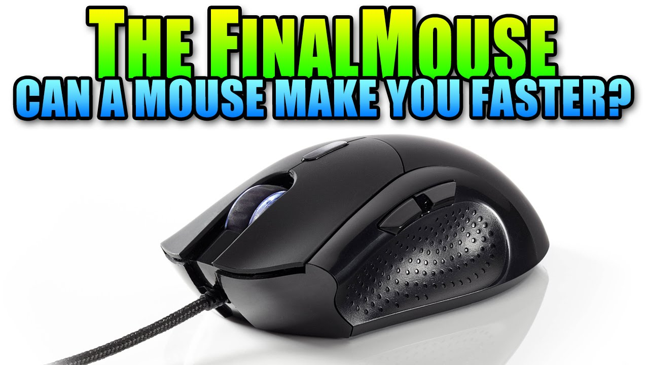 The FinalMouse - Can A Good Mouse Make You Faster? (Unboxing & Review | FPS  Gaming Mouse)