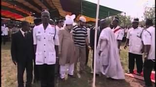 Tour of Nigeria by Hazrat Mirza Masroor Ahmad in 2004