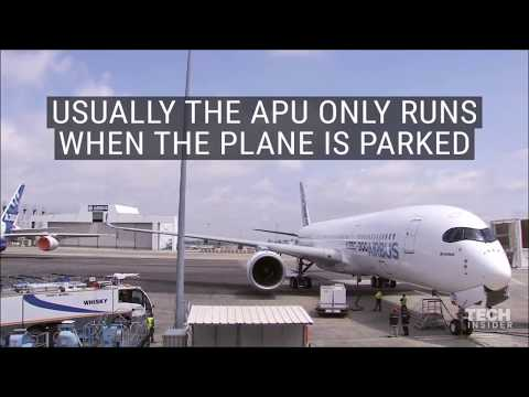 Explaining APU (Auxiliary Power Unit) on Airplanes