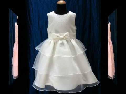 new products 5ed6e 377cb Abito Damigella Bimba BellaDiMamma.it