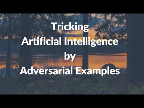 Tricking Artificial Intelligence by Adversarial examples | Patch (Google)