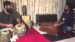 "Satya Raj Acharya and Pratik Vanja jamming up in ""उ हो कुबेर मत सुदामा"""