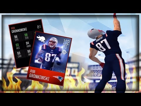 102 OVR COLOR RUSH GRONK!! HE IS A BEAST!! MADDEN MOBILE 18 GAMEPLAY!!