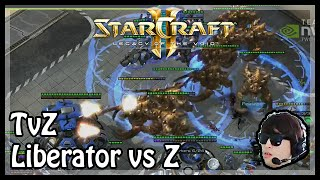 LotV Beta: Liberator vs Z in TvZ