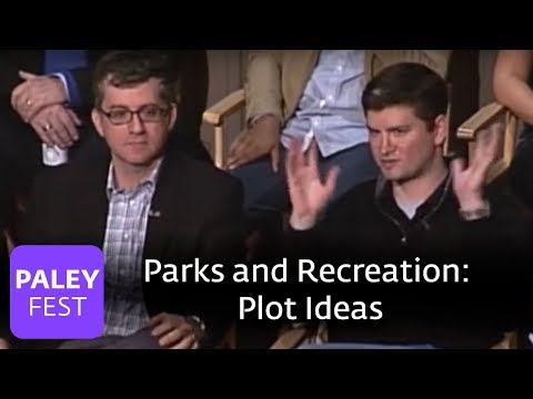 Parks and Recreation  Greg Daniels on Plot Ideas Paley Center