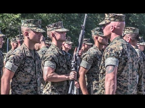 Claiming The Title Of Marine: Battalion Commander's Inspection