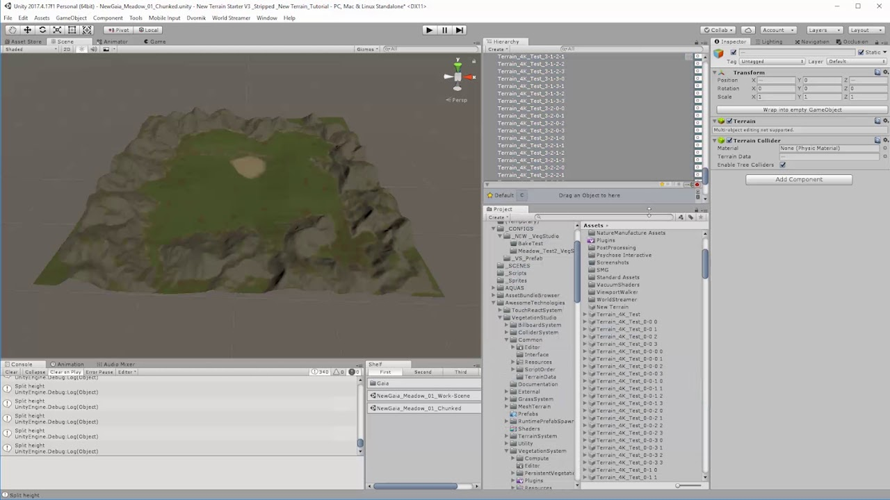 Streaming Multi-Tiled Terrains with Unity (Part 3) Chunking the terrain