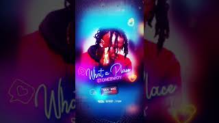 Stonebwoy - What a Place (Sexting Riddim)