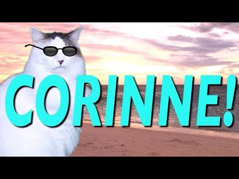 HAPPY BIRTHDAY CORINNE! - EPIC CAT Happy Birthday Song