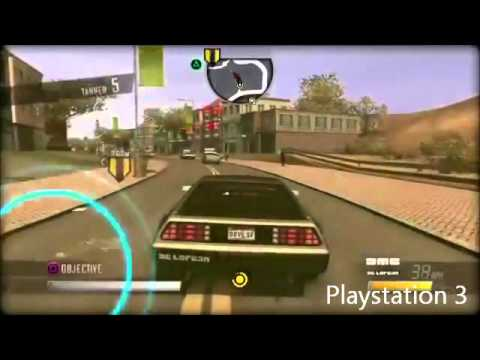 Wii Vs Playstation 3 Driver San Francisco Youtube