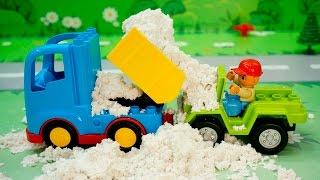 Щенячий патруль новые серии 2017 - Завалило песком! Развивающие мультики про машинки Для детей.