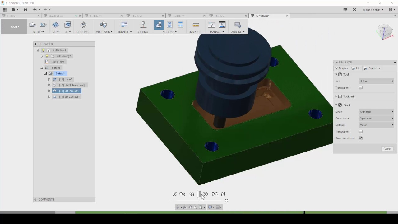 CAMWorks vs  Fusion 360  – CAD-CAM Engineering