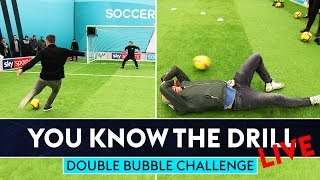 ROBBIE FOWLER vs JIMMY BULLARD | Double Bubble Challenge | You Know The Drill LIve