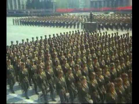 Celebration of the 75th Anniversary of Founding of the Korean People's Army {Part 3}