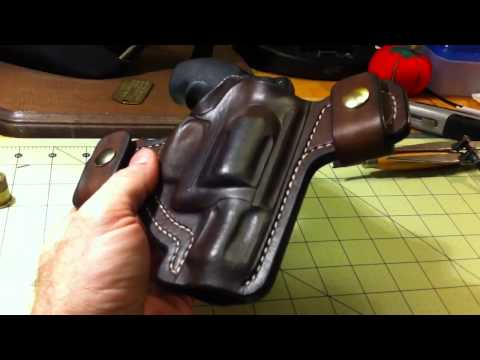 handcrafted leather smith and wesson airlite j frame holster turner leatherworks