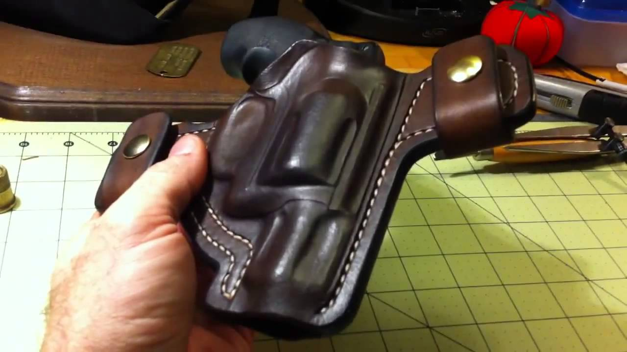 Handcrafted Leather Smith and Wesson Airlite J Frame Holster Turner ...