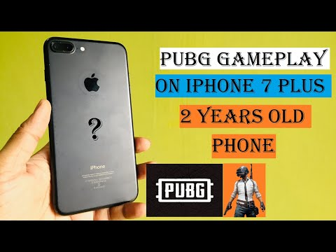 2 Years Old Iphone 7 Plus Gaming Test  #PUBG