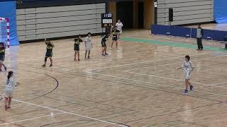 20191201福岡県中学新人ハンドボール(女子) 準決勝 多々良中央vs大利(後半)