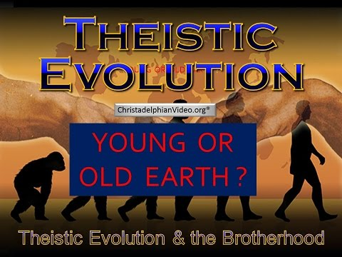 Theistic Evolution - 'School Of The Prophets' Pt5 'Young or old earth six days' T5