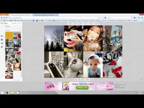 How to create a photo collage for Project Life layout (PicMonkey tutorial)