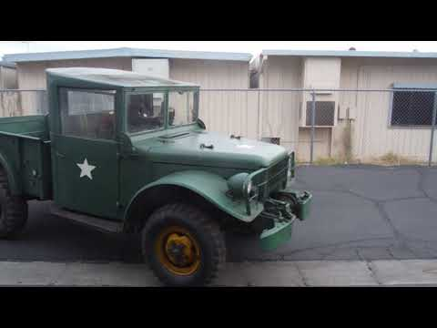 SOLD 1953 Dodge M37 4x4 Power Wagon FOR SALE, $9550   SOLD