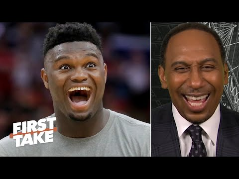 Stephen A. refuses to fall into the Zion hype: 'It's the preseason!' | First Take